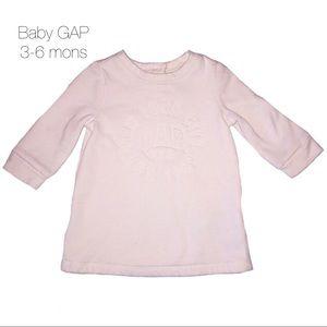 Baby GAP Cream Sweater Dress 3-6 mons